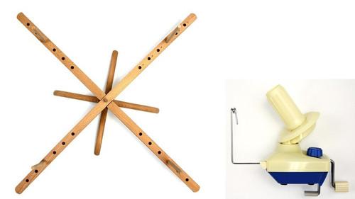Stanwood Needlecraft - Tabletop Amish Style Yarn Swift / Ball Winder YBW-B Combination #4