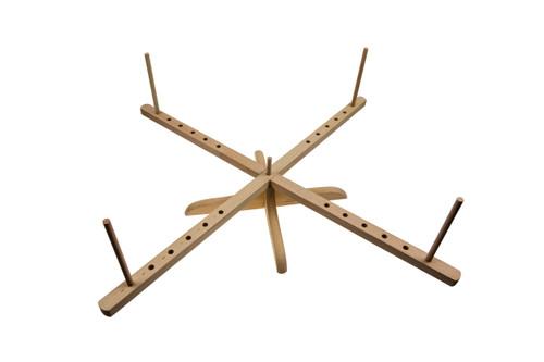 Stanwood Needlecraft - Tabletop Amish Style Wooden Yarn Swift, 2.5-6 ft