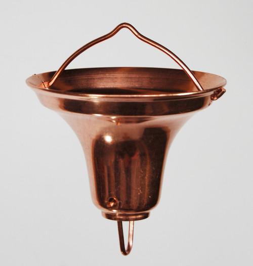 Stanwood Rain Chain - Copper Gutter Adaptor/Reducer for Rain Chain