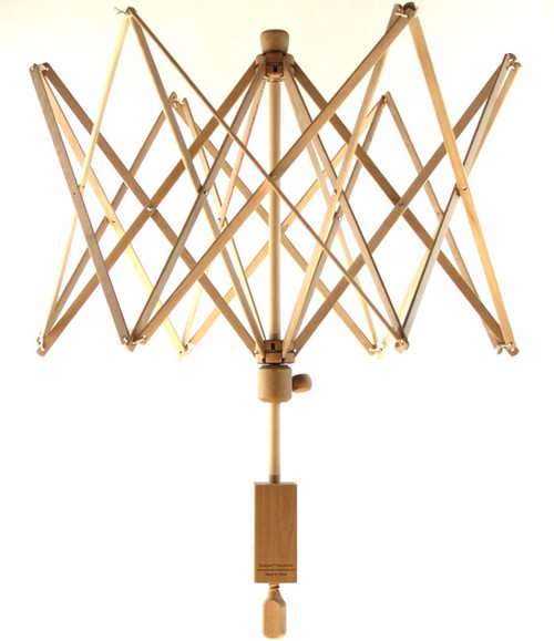 Stanwood Needlecraft - Wooden Umbrella Swift Yarn Winder - Large, 8.5 ft