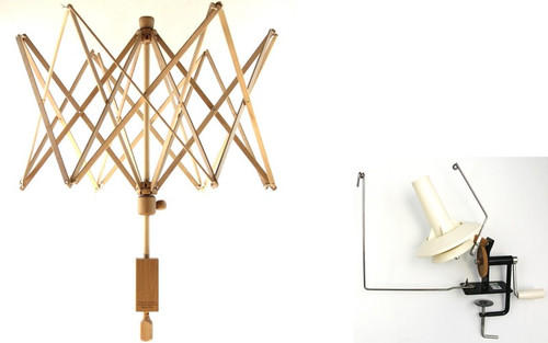 Stanwood Needlecraft - Large Umbrella Yarn Swift / Large Metal Ball Winder Combination #7