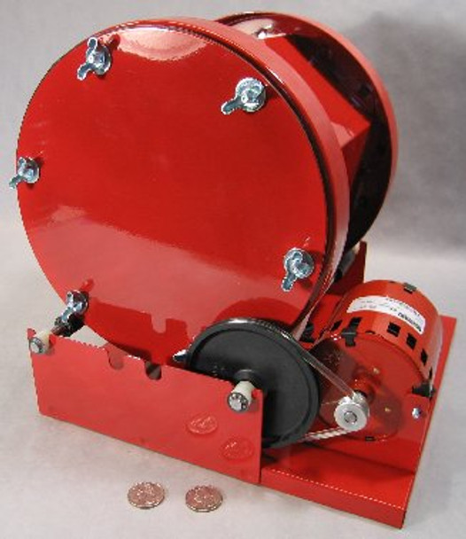 Single 15-Lb Barrel Rotary Rock Tumbler (Thumler Model B)