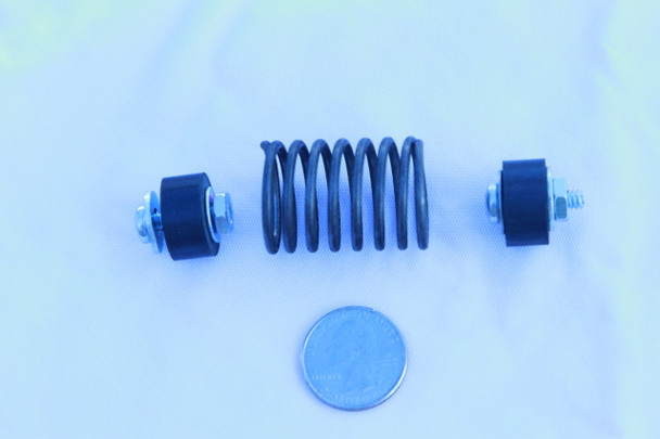 Spare Suspension Spring for all Tagit Vibratory Tumblers (with hardware)