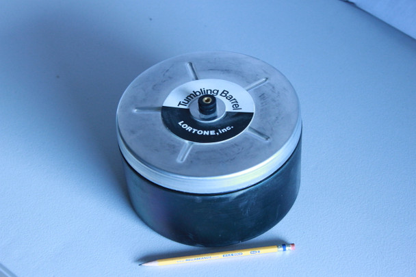 Lortone Spare 4-Lb Rotary Barrel & Lid for Model 45C