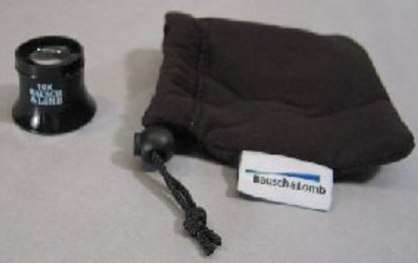 Bausch & Lomb Standard 10X Watchmakers Loupe