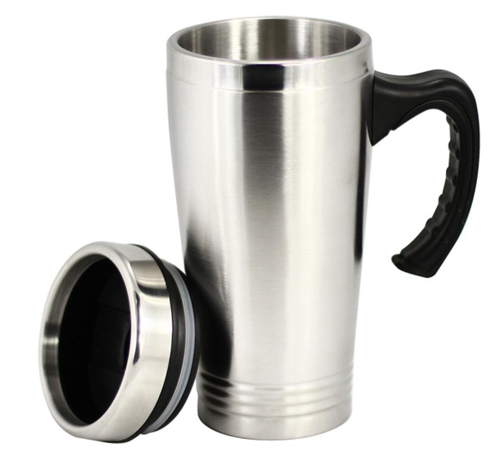 Basic Stainless Steel Travel Mug