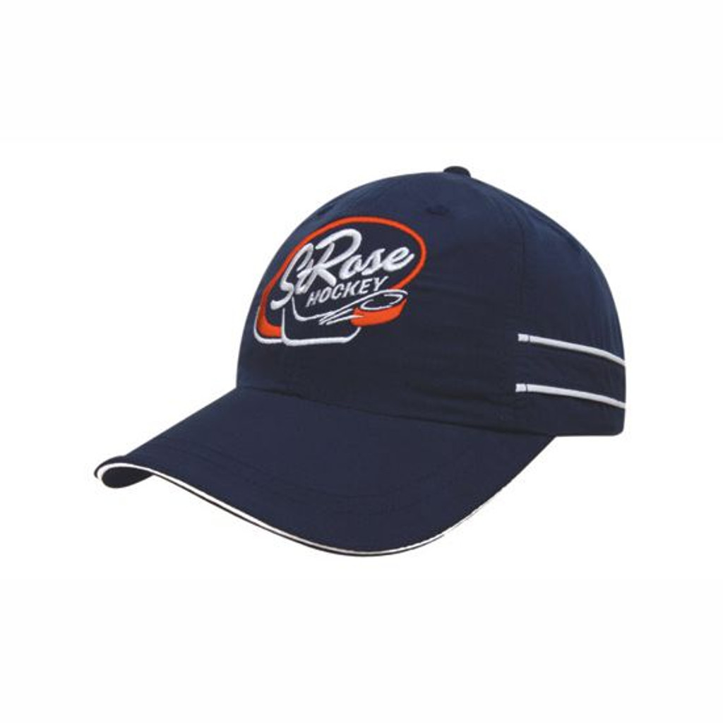 Microfibre Sports Cap with Piping