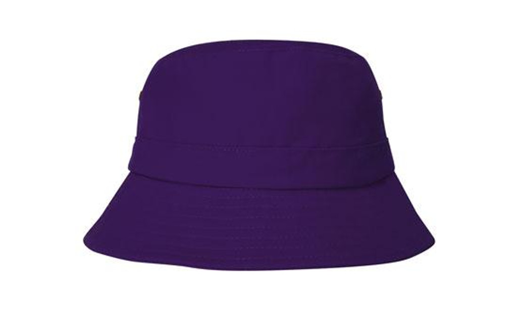 Brushed Sports Twill Youth Bucket Hat