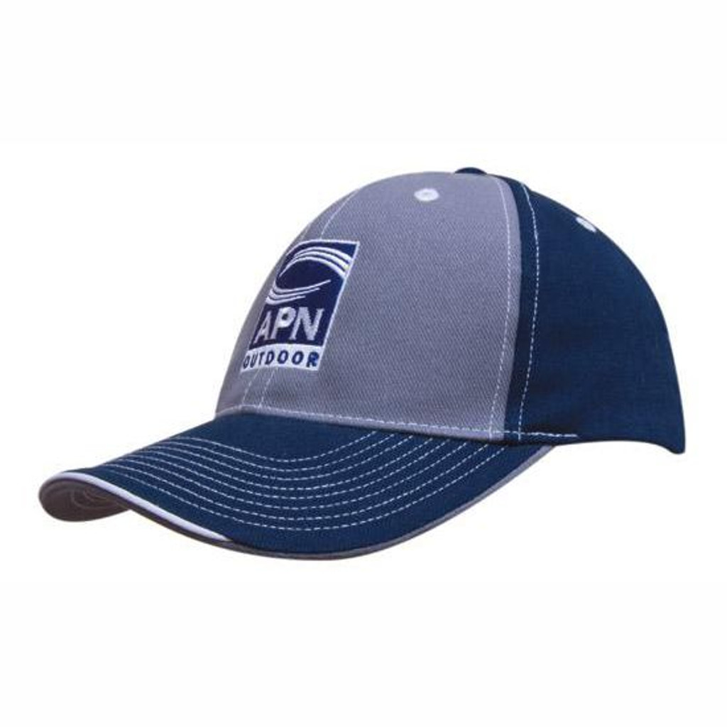 Brushed Heavy Cotton Two Tone Cap