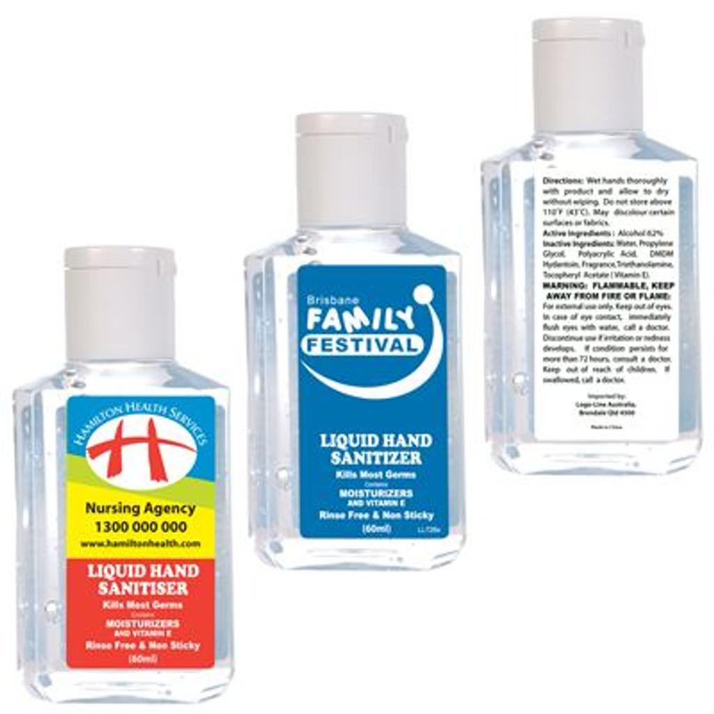 *BEST SELLER* Branded 60ml Liquid Hand Sanitiser