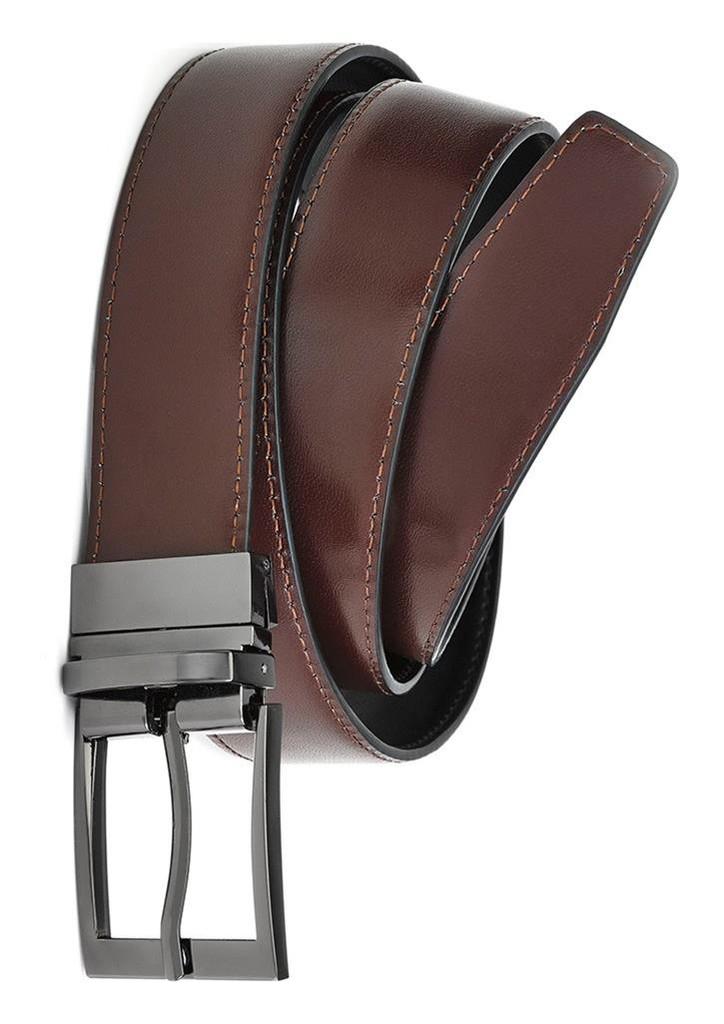 Leather Reversible Mens Belt