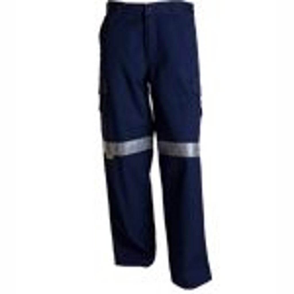 Ladies Mid Weight Trousers Cargo with Tape