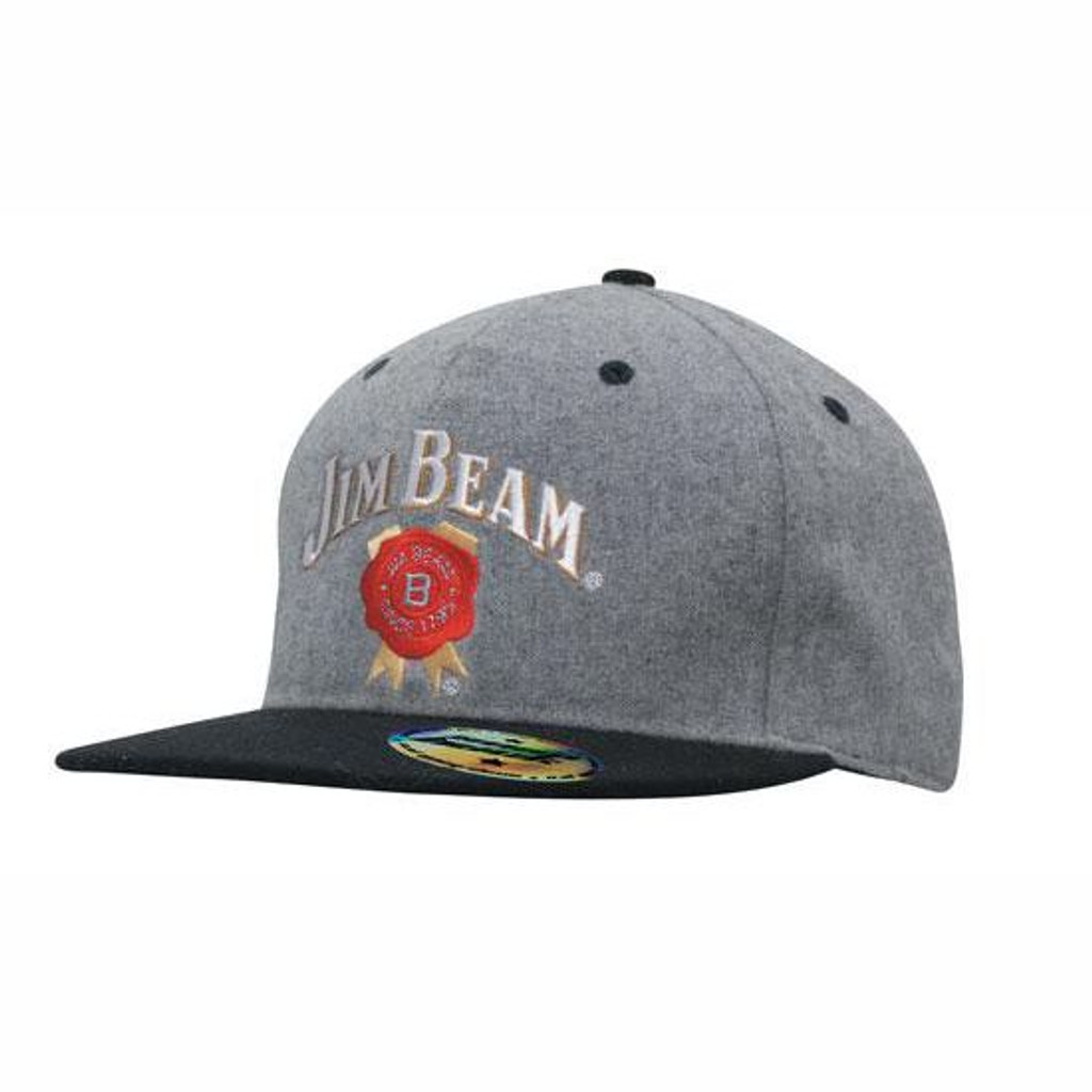 Grey Marle Flannel with Snap Back Pro Styling