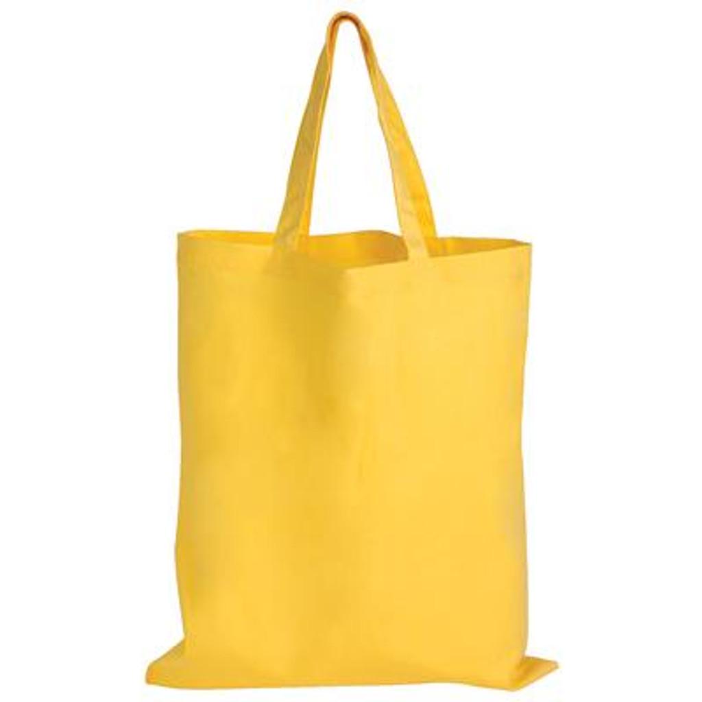 Cotton Double Short Handle Tote Bag