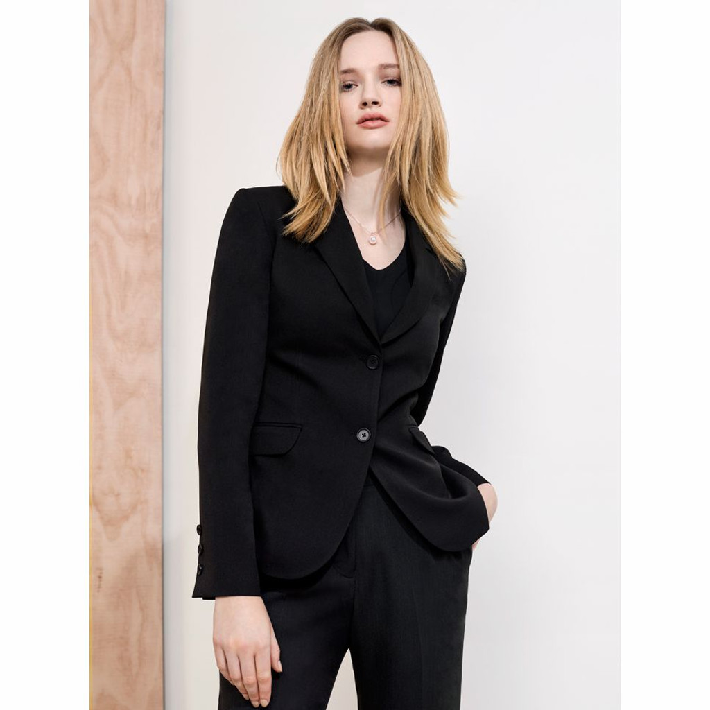 2 Button Mid Length Ladies Jacket