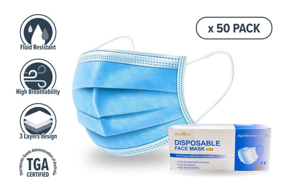 *NEW* Disposable Face Mask