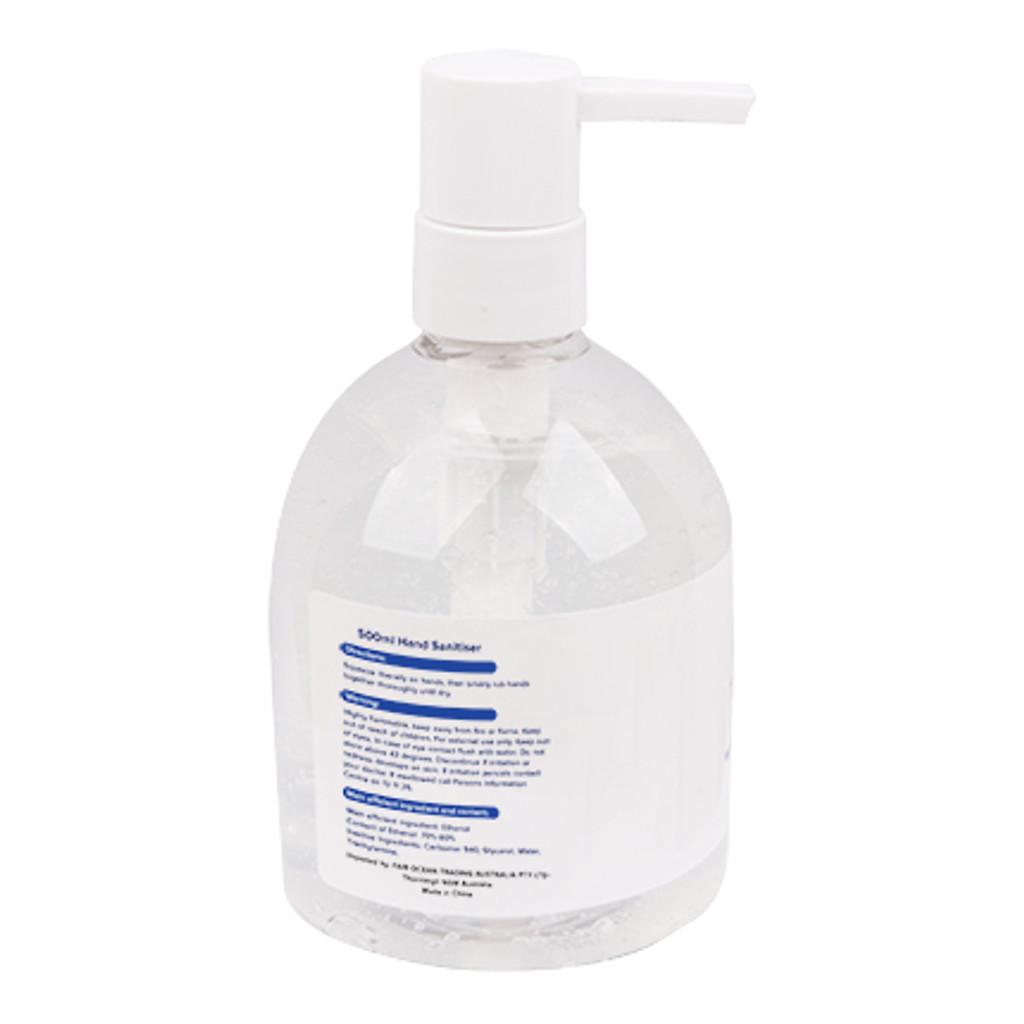 *NEW* 500ml Hand Sanitiser Gel