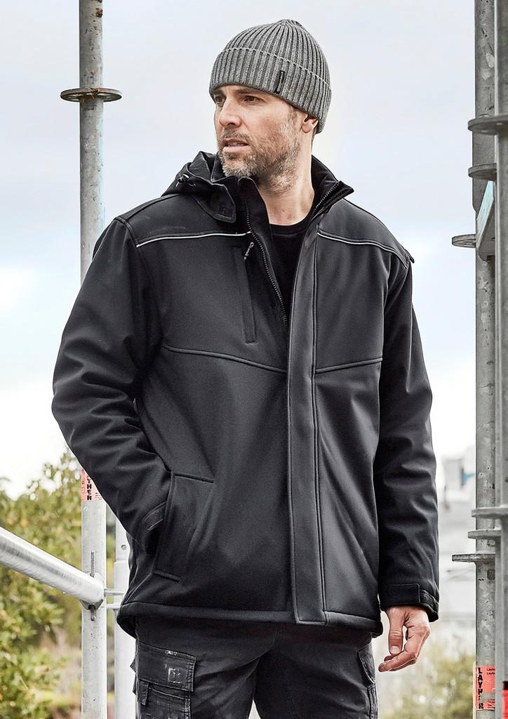 Unisex Softshell Taped Jacket
