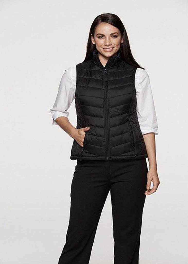 Snowy Ladies Puffer Vest