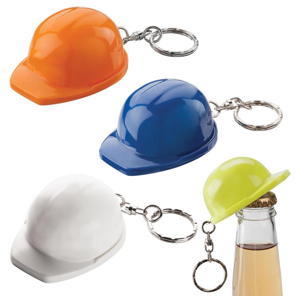 Hard Hat Keyring Bottle Opener