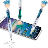 Mop Top Stethoscope Ballpoint Pen / Stylus