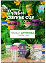 Reusable Bamboo Coffee Cup