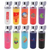 *NEW* Capri Glass Bottle with Neoprene Sleeve