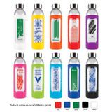*NEW* Capri Glass Bottle with Silicone Sleeve - 570ml