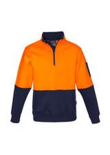 *NEW* Unisex Hi Vis Half Zip Pullover
