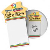 Notepad House Shaped Fridge Magnet