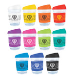 *NEW* Glass Vienna Coffee Cup / Silicone Lid