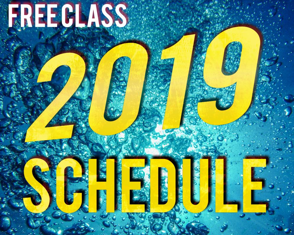 Class Schedule 2019