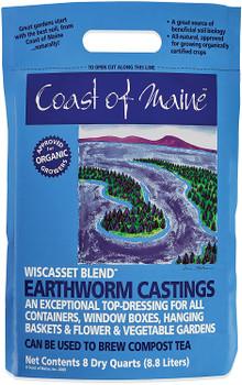 Coast of Maine Earthworm Castings