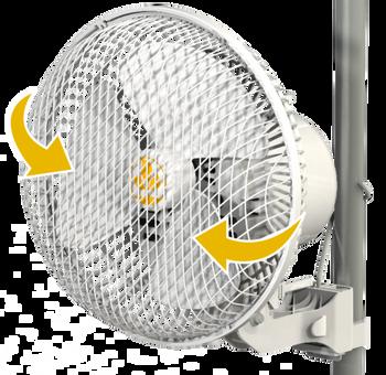 20W Monkey Fan Oscillating v2.0