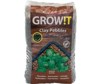 GROW!T Clay Pebbles, 25 L