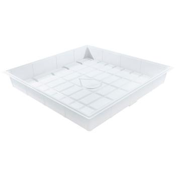 4'x4' (ID) Grow Tray - White