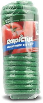 Rapidclip 32' Foam Wire Tie Roll