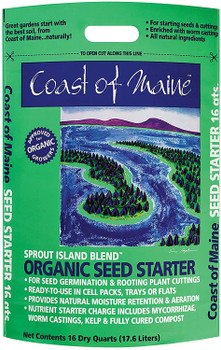Coast of Maine Sprout Island Seed Starter 16 dry Qt