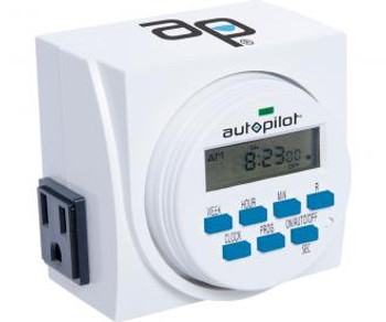 Autopilot 7-Day  Single Grounded Digital Programmable Timer