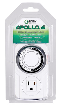 Titan Controls Apollo 6- 1 Outlet Mechanical Timer
