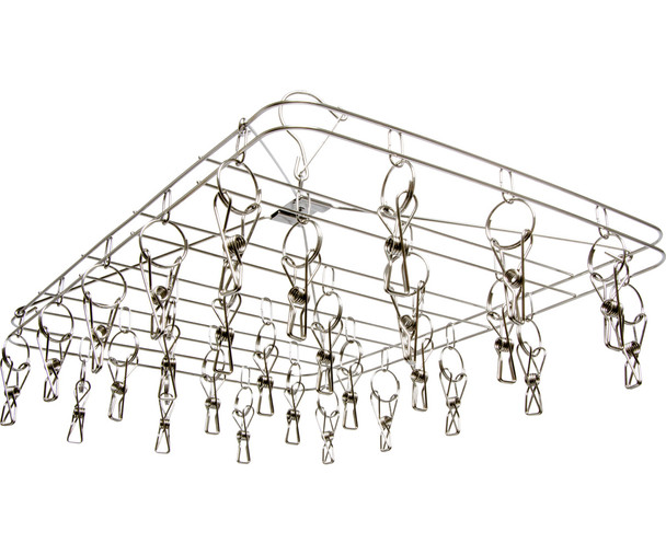 STACK!T 28 Clip Stainless Steel Drying Rack