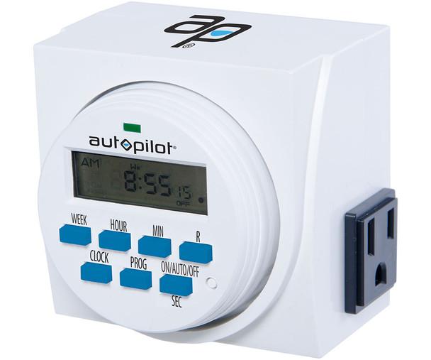 AutoPilot Dual Outlet 7- Day digital timer