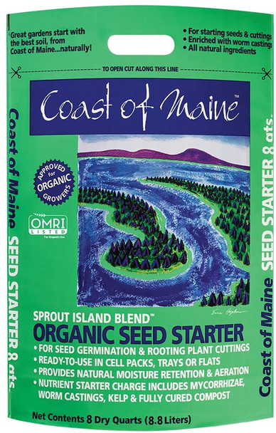 Sprout Island Organic Seed Starter, 8qt