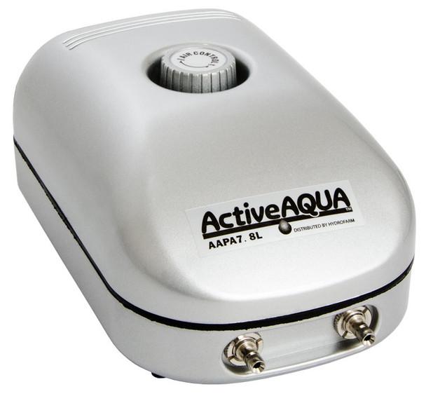 Active Aqua Air Pump, 2 Outlets, 3W, 7.8 L/MIN