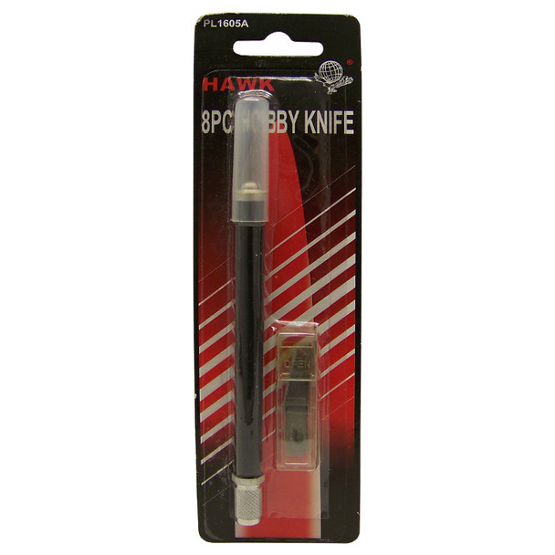 Hawk 8 PC Hobby Knife