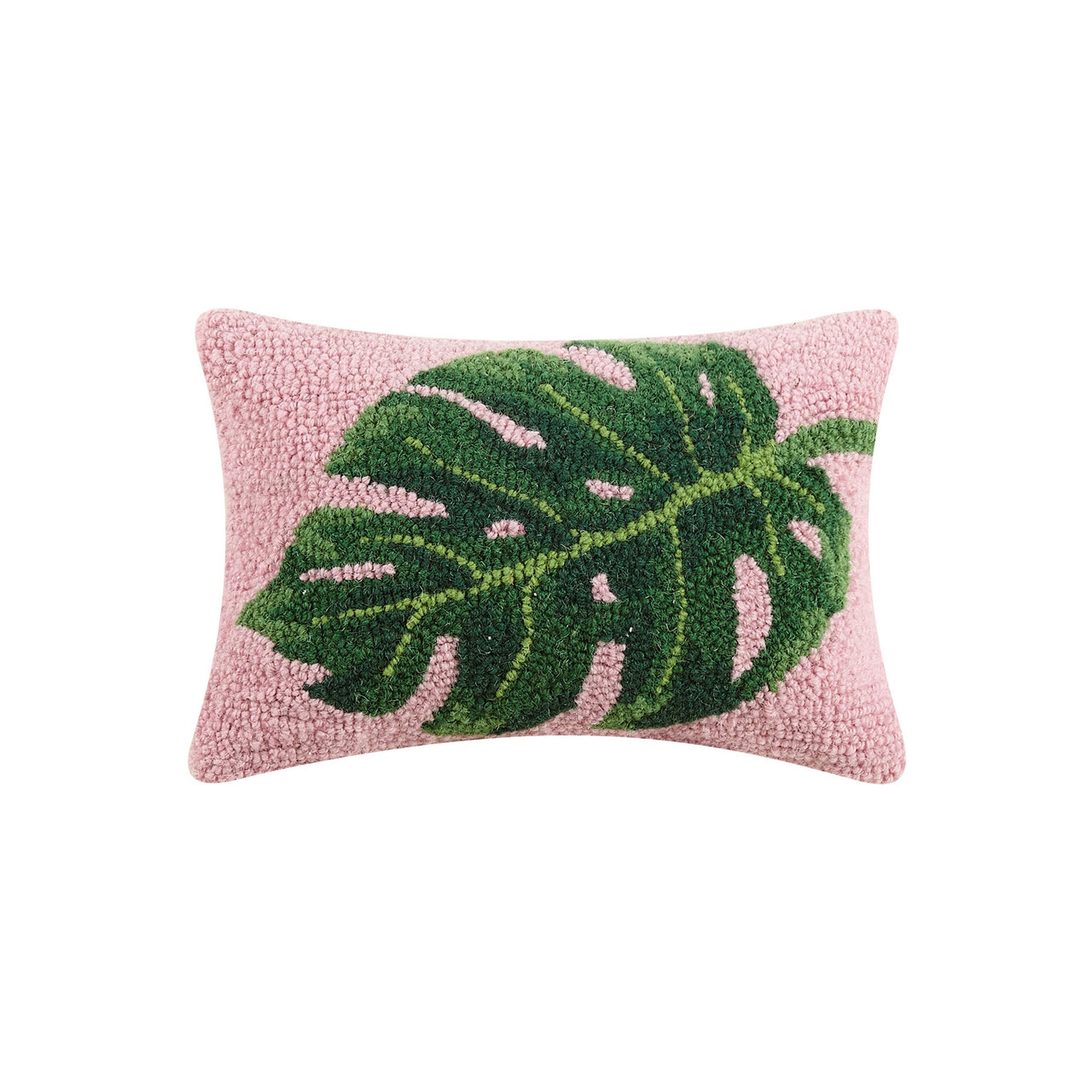 Preorder Palm Leaf Pillow The Silver Oyster