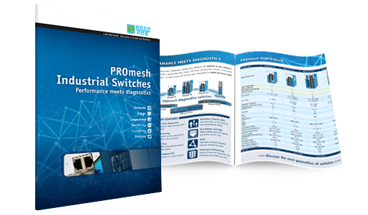 PROmesh Industrial Ethernet/PROFINET Smart Switch Catalog Preview