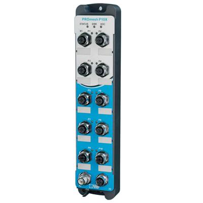 IP67 Intelligent Industrial Ethernet Switch PROmesh P10x