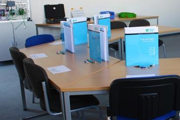 InduSol Training classroom set up