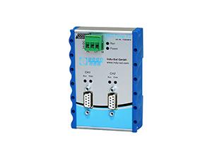 2 port PROFIBUS Repeater Multirep X2 110030010
